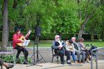 11.05.2014r.  Plenerowy koncert w wykonaniu Włodzimierza Votki