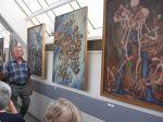 """21.05.2011r.  Otwarcie wystawy """"Tężniopolis pędzlem i piórem opisane"""" w Galerii Pod Dachem Nieba"""