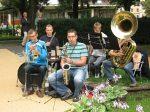 3.07.2011r.   Plenerowy koncert w wykonaniu Big Bandu Młodzieżowej Orkiestry z Wagańca