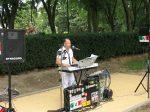 10.07.2011r.  Plenerowy koncert muzyki włoskiej w wykonaniu Guy Crucillo