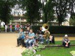 31.07.2011r.  Plenerowy koncert w wykonaniu Sax Bandu z Big Bandu Młodzieżowej Orkiestry Dętej (Waganiec)