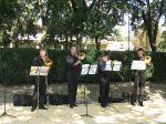 28.08.2011r.  Plenerowy koncert w wykonaniu kwartetu puzonowego
