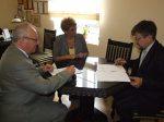 7.09.2011r.  Podpisanie umowy z Bankiem PKO BP w Warszawie na emisję bonów komunalnych