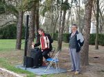22.04.2012r.  Koncert akordeonowy Pawła Soboty przy fontannie na Parterach Hellwiga