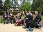 13.05.2012r.  Koncert Sax Band z Big Bandu Młodzieżowej Orkiestry Dętej w Wagańcu