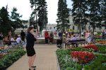 15.07.2012r.  Plenerowy koncert w wykonaniu Agaty Bobrowskiej