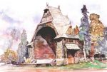 Ciechocinek in water colours of Zdzisław Szmidt